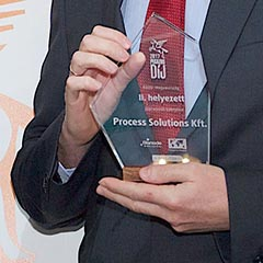 Process Solutions' Hungarian office is among the three fastest-growing companies in Hungary - Pegazus Award